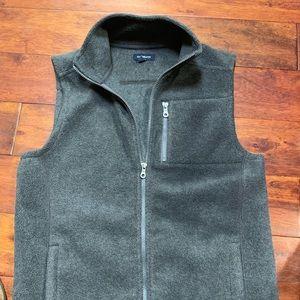 Men's Grey Fleece Vest